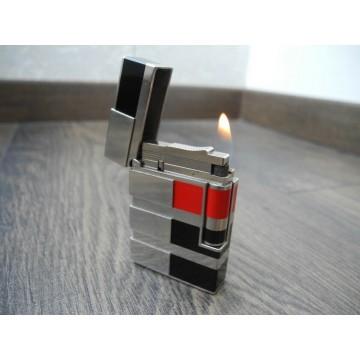S.T. DUPONT ART & TECHNIQUE LIMITED EDITION Line 2 Platinum Lacque Pocket LIGHTER