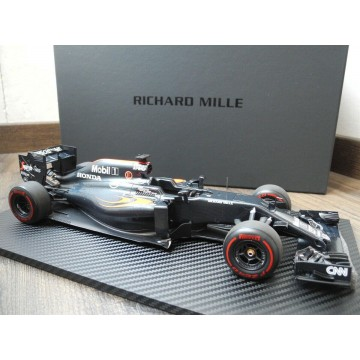 RICHARD MILLE WATCH brand McLAREN HONDA MP4-31 FORMULA 1 LIMITED EDITION CAR MODEL 1:18