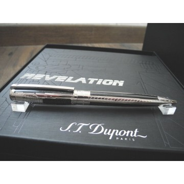 S.T. DUPONT REVELATION LIMITED EDITION 888 PLATINUM BALLPOINT PEN NEW SET