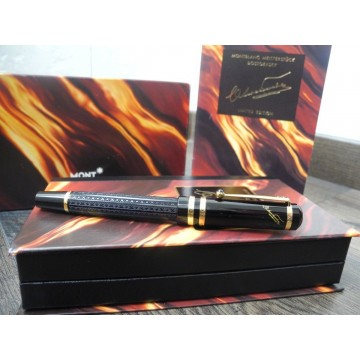 MONTBLANC WRITERS EDITION 1997 F.DOSTOEVSKY 18K GOLD LIMITED FOUNTAIN PEN