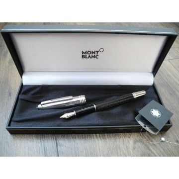 MONTBLANC MEISTERSTUCK 144 SOLITAIRE DOUE SIGNUM FOUNTAIN PEN 8574 NEVER INK NOS