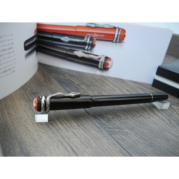MONTBLANC HERITAGE COLLECTION ROUGE ET NOIR SPECIAL EDITION ROLLERBALL PEN