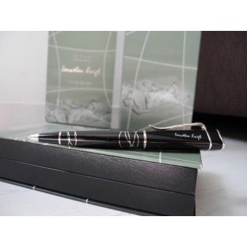 MONTBLANC JONATHAN SWIFT WRITERS EDITION LIMITED BALLPOINT PEN SET BOX PAPER