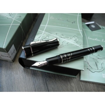 MONTBLANC WRITERS EDITION JONATHAN SWIFT LIMITED 18K GOLD M Fountain Pen SET NEW