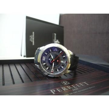 PERRELET TITANIUM 3 Hands-Date A5007 AUTOMATIC ROTOR 43mm MEN'S WATCH FULL SET