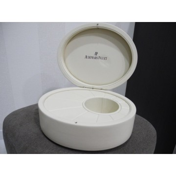 AUDEMARS PIGUET Millenary AP WHITE LEATHER WATCH Presentation storage BOX SUPERB