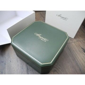 BREGUET GREEN LEATHER HIGH QUALITY for AUTOMATIC WATCH BOX
