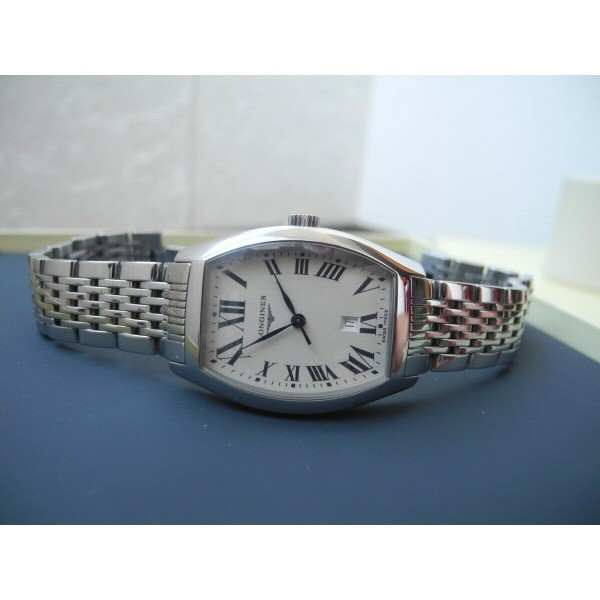 LONGINES EVIDENZA STAINLESS STEEL L2.155.4 Woman's Ladies SWISS WATCH NEW