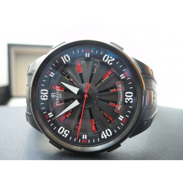 PERRELET TURBINE XL VEGAS CASINO ROULETTE 48mm LIMITED EDITION AUTOMATIC WATCH