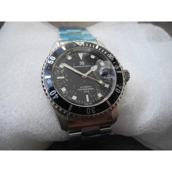 Schwarz Etienne Submariner Professional 200 Automatic Deepsea watch